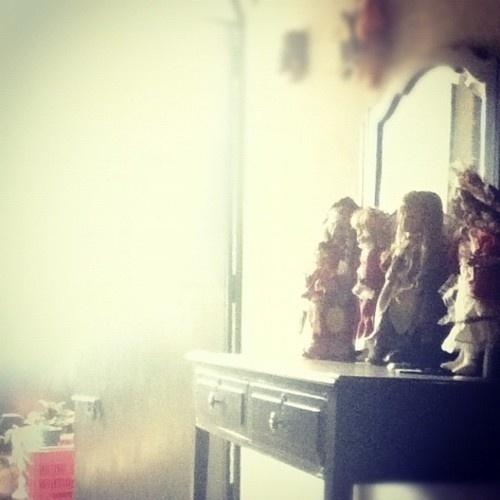 Cardenal #mirror #sun #dolls