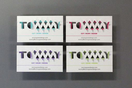 TommyPerezBC_07 #die #cut #business #print #simple #cards