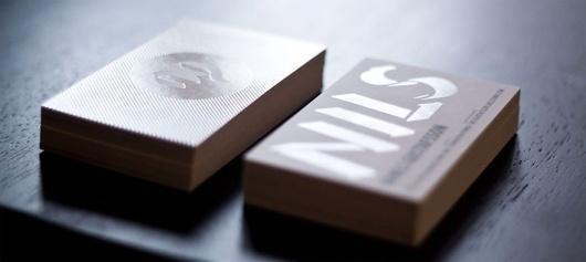 Nils Business Cards - Business Cards - Creattica #nils #cards #business