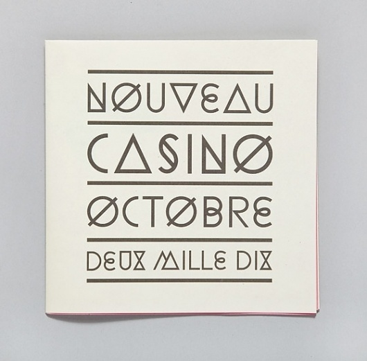 Ill Studio - Nouveau Casino 01 #type #poster