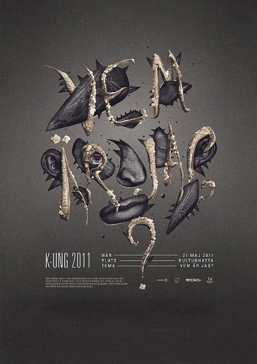 Diftype - The alter-ego, portfolio & playground of Niklas Lundberg #illustration #poster #typography