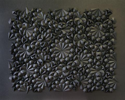 Matt Shlian   PICDIT #sculpture #design #black #art #paper