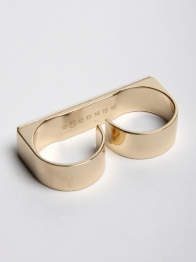 ☹is this real life?☹ #margiela #jewelry #ring #gold