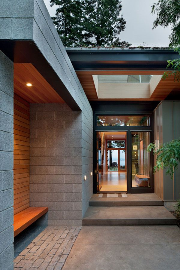 Sustainable home with modern design aesthetic