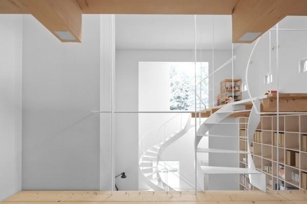 Case House7 #interior #design #decor #architecture #deco #stairs #decoration