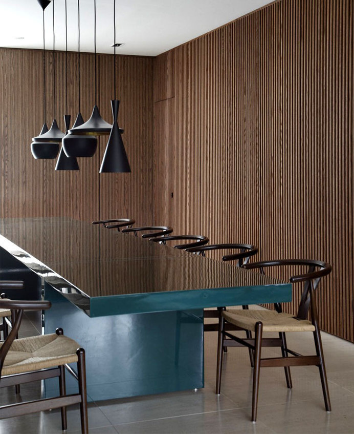 Original Urban Style Home guilherme torres design interior #interior #dining #design #decor #table