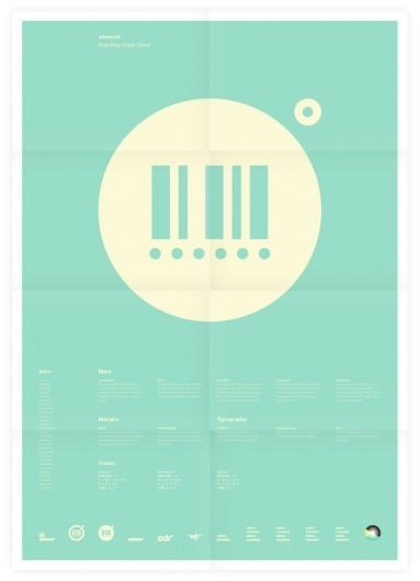 Universal Branding System (adeere) Poster #inspiration #creative #design #graphic #grid #system #poster #typography
