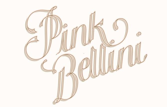 Lettering for Bijou Candles Newsletter #type #illustration #lettering