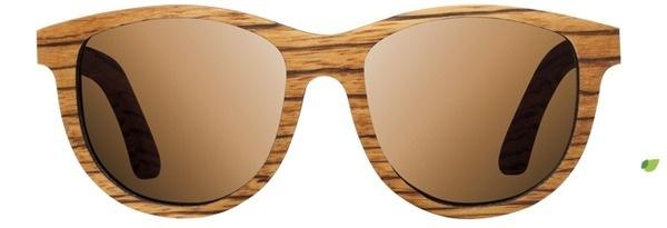 Shwood | Neskowin | Zebrawood | Wooden Sunglasses #glasses #wooden #zebrawood #sunglasses #wood #neskwoin #shwood