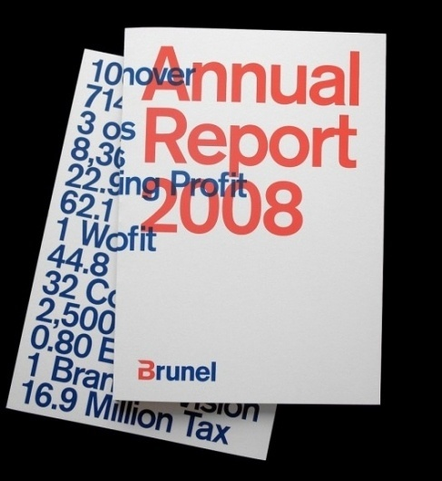 WANKEN - The Blog of Shelby White » Work from Matthijs van Leeuwen #van #print #leeuwen #annual #report #matthijs #typography