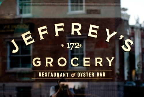 Waverly Place and Christopher Street #typography