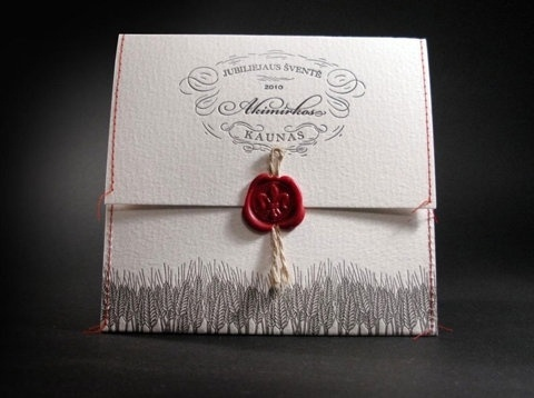 FFFFOUND! | Google Reader (8) #stitching #packaging #letterpress #embroidery #music #wax