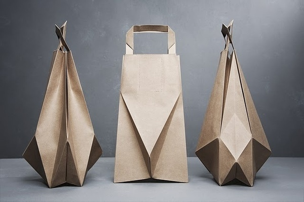 Best Origami Paper Packaging Inspired Bags Images On Designspiration