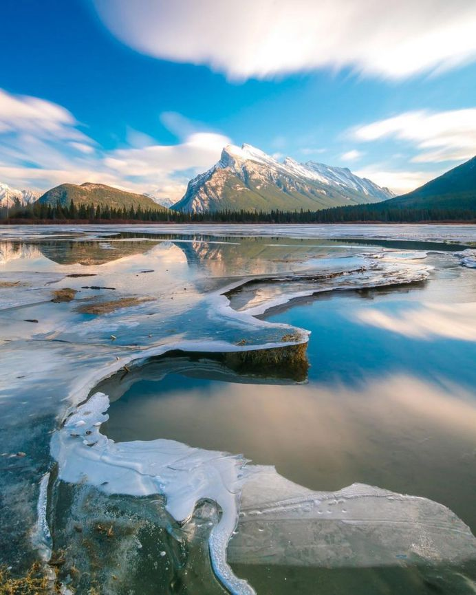 Stunning Reflected Landscapes Capture The Beauty of Alberta