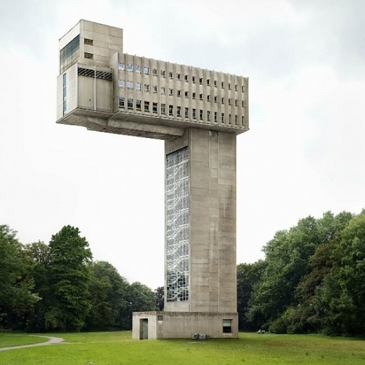 The Fox Is Black » Filip Dujardin #brutalist #brutalism #archiecture