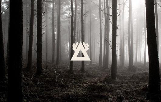 Gareth Hughes ‐ Portfolio #smog #shape #pyramid #forest #monochromatic