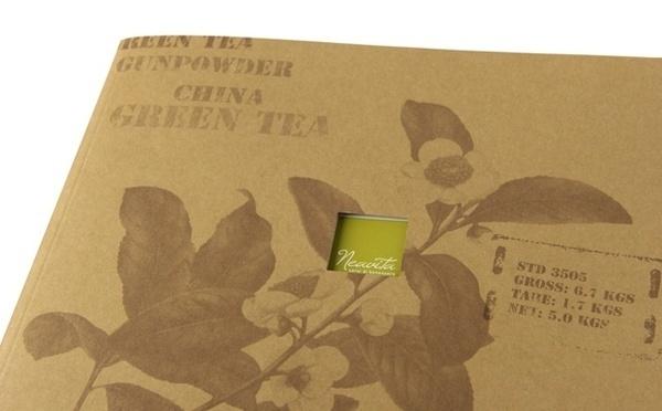Artwork by www.o-zone.it #italia #hp #cover #catalogue #neavita #time #tea