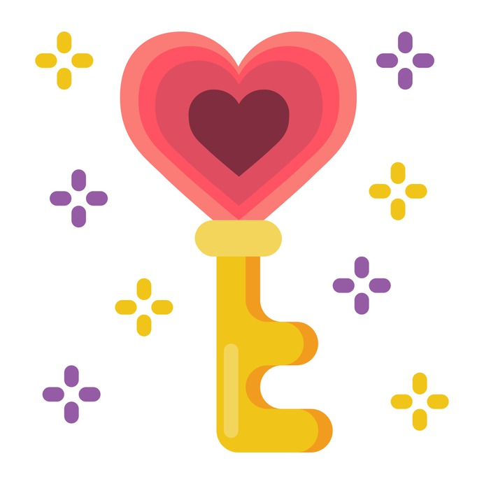 See more icon inspiration related to key, love, love and romance, Tools and utensils, valentines day, heart shaped, romantic, heart shape and padlock on Flaticon.