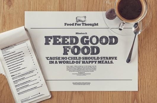Somewhere Else #food #typography