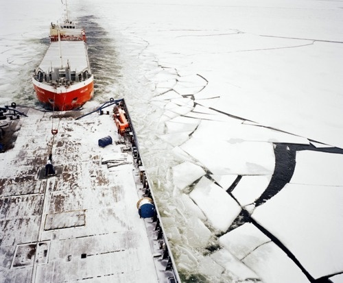 That Kind Of Woman #snow #floe #photography #boat #ice