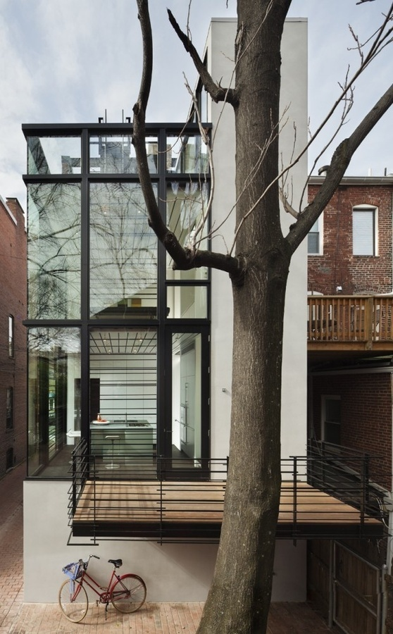Architecture / Barcode House / David Jameson Architect #building #architecture #house