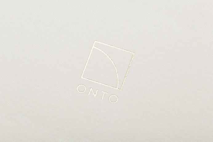 Onto by High Tide NYC #gold #logo #identity #branding