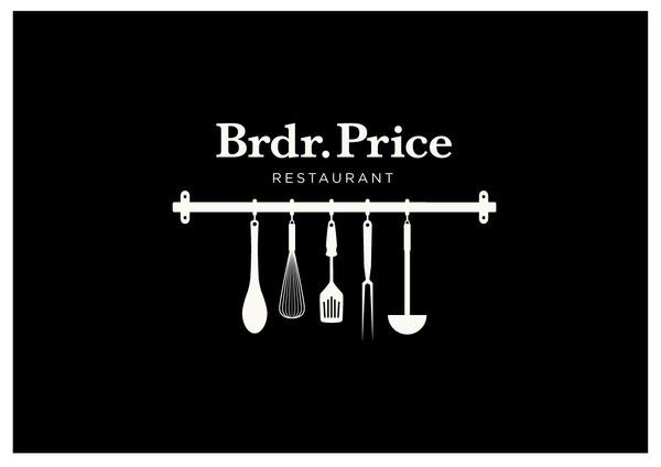 Brdr. Price Restaurant on Branding Served #logo #branding