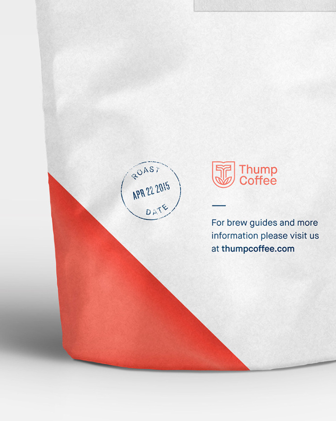 Thump Coffee by Course #package #bag #coffee