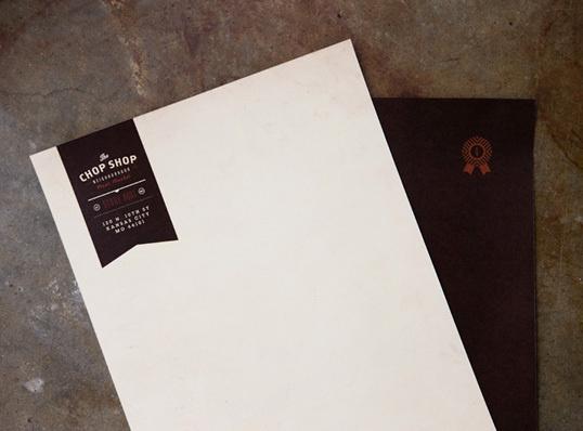 chopshop2 #letterhead #identity #branding #stationery