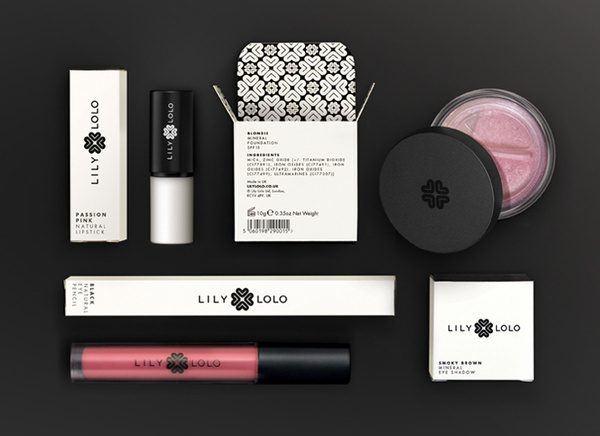 Lily Lolo #packaging #identity #collateral #branding