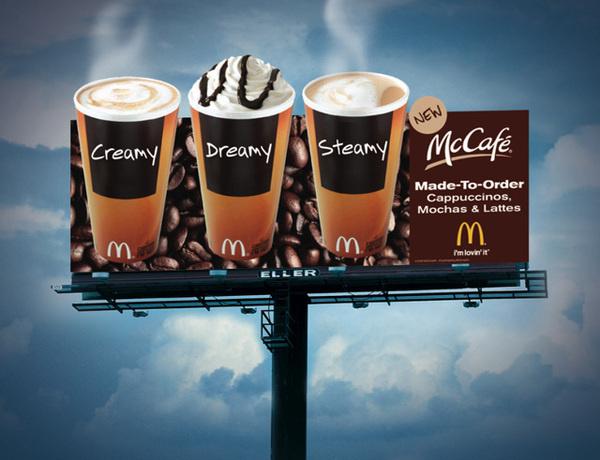 McDonalds billboard #ooh #billboard #advertising