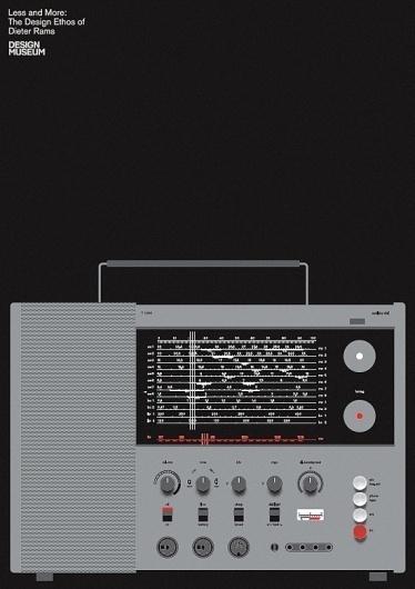 Bibliotheque Editions — Braun T 1000 Radio #print #design #graphic #minimal #poster