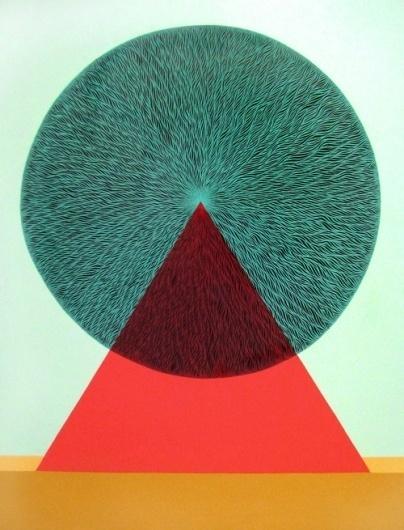Buamai - Mark Warren Jacques #mark #jacques #design #graphic #warren #triangle #circle