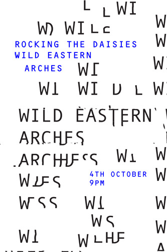Wild Eastern Arches Jack Walsh #band #poster