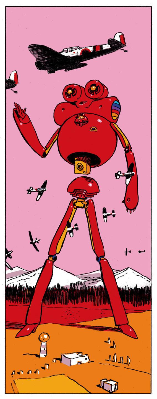 glyn dillon #robot