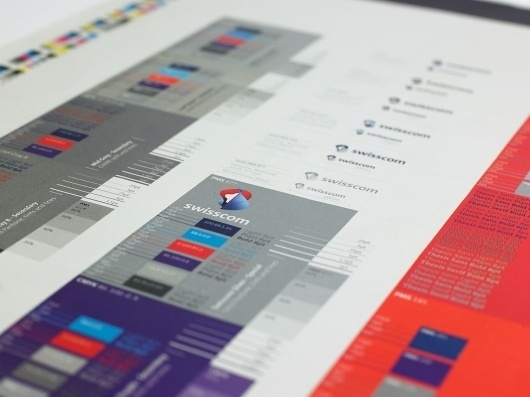 Swisscom   Moving Brands - a global branding company #branding #guide #guidelines #corporate #style