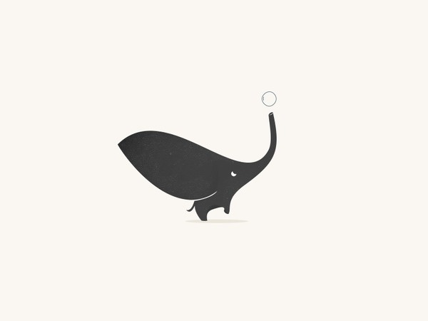 Trendgraphy, A place for graphic design inspiration #elephant