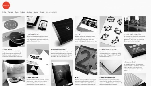 Effektive - Web design inspiration from siteInspire #website #grid #grey
