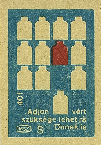 Hungarian matchbox label   Flickr - Photo Sharing! #matchbox #hungarian #vintage #label