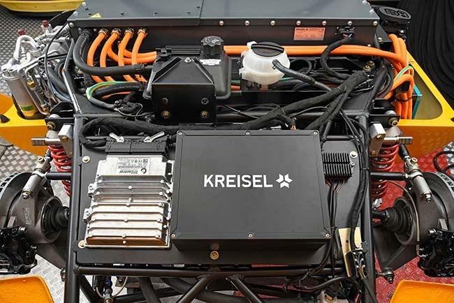 The classic reinterpreted: Kreisel EVEX Porsche 910e #allelectric #porsche910 #Porsche910e #technoclassica