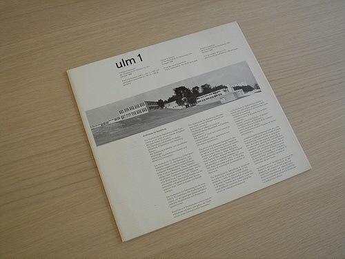 » Ulm 1 Flickrgraphics #layout #design #graphic #typography