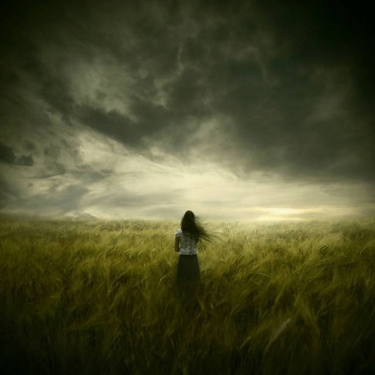 The Premonition, photography by Michael Vincent Manalo #woman