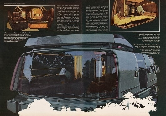 WANKEN - The Blog of Shelby White » Playboy Land Yacht Concept #illustration #concept #yacht #playboy