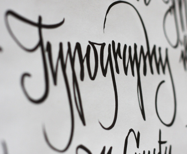 typography #calligraphy #type design