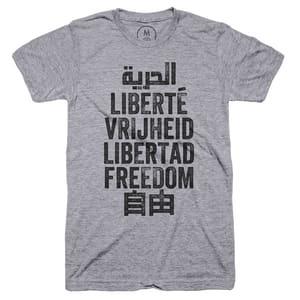 Freedom is a universal language tshirt #tshirt
