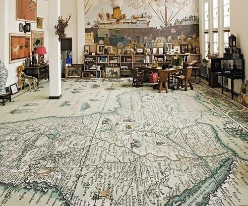tumblr_m1inors1MG1qa9ddao1_500.jpg (500×416) #old #house #map #floor #room