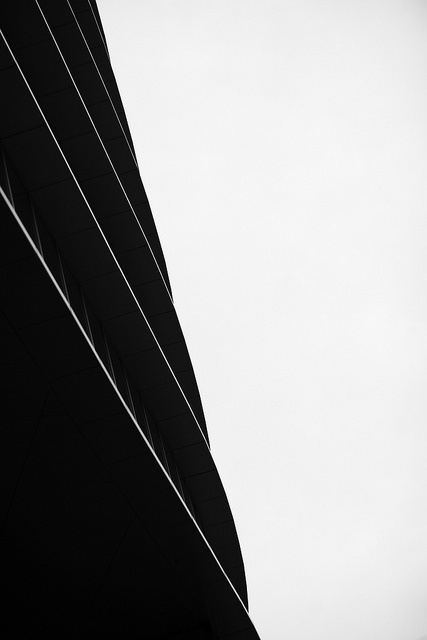 World Trade Center.Russia #white #lines #black #architecture #and #detail #buildings