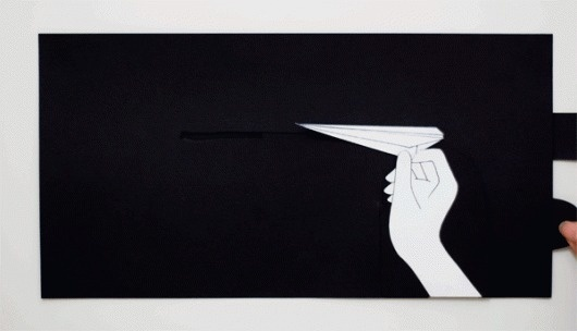 Delightful Paper Pop Ups by Jenny Chen #animation #pop #aeroplane #throw #hand #glide #up #paper