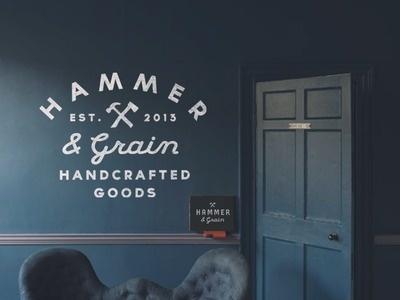 Hammer & Grain #urban #logo