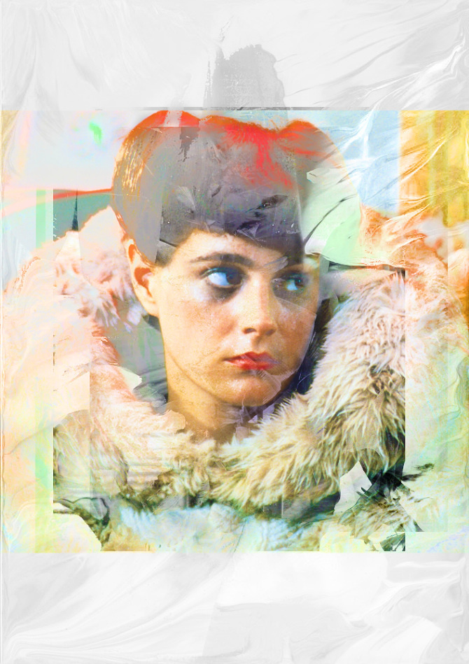 Rachael - numanhoid #movie #young #rachael #ridley #sean #blade #cruz #texture #alfonso #runner #illustration #digital #numanhoid #art #tribute #scott #fan